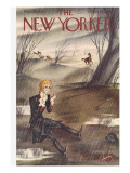 The New Yorker Cover - November 28, 1936 Regular Giclee Print by Constantin Alajalov