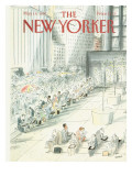 The New Yorker Cover - May 18, 1987 Regular Giclee Print by Jean-Jacques Sempé