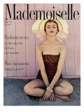 Mademoiselle Cover - May 1954 Regular Giclee Print by Herman Landshoff