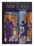 The New Yorker Cover - June 3, 1933 Premium Giclee Print by Adolph K. Kronengold
