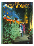 The New Yorker Cover - December 14, 1963 Premium Giclee Print by Arthur Getz