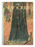 The New Yorker Cover - November 5, 1966 Premium Giclee Print by Abe Birnbaum