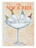 The New Yorker Cover - December 31, 1979 Regular Giclee Print by Edward Koren