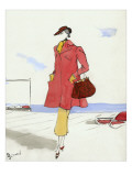Vogue - May 1935 Regular Giclee Print by Christian Berard