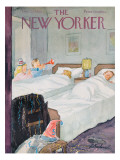 The New Yorker Cover - December 29, 1956 Premium Giclee Print by Perry Barlow