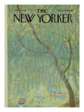 The New Yorker Cover - July 15, 1967 Premium Giclee Print by Ilonka Karasz