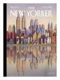 The New Yorker Cover - September 15, 2003 Regular Giclee Print by Gürbüz Dogan Eksioglu