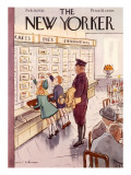 The New Yorker Cover - February 26, 1938 Premium Giclee Print by Helen E. Hokinson