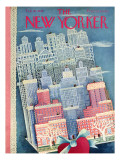 The New Yorker Cover - February 15, 1947 Regular Giclee Print by Ilonka Karasz