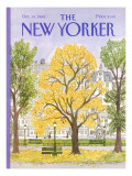 The New Yorker Cover - October 14, 1985 Regular Giclee Print by Barbara Westman