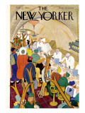 The New Yorker Cover - February 22, 1941 Premium Giclee Print by  Alain