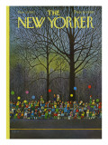 The New Yorker Cover - November 25, 1972 Premium Giclee Print by Charles E. Martin