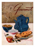 Gourmet Cover - March 1944 Premium Giclee Print by Henry Stahlhut