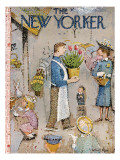 The New Yorker Cover - April 5, 1958 Regular Giclee Print by Garrett Price