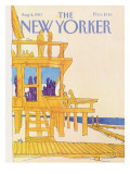 The New Yorker Cover - August 8, 1983 Regular Giclee Print by Arthur Getz