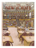 The New Yorker Cover - January 9, 1984 Premium Giclee Print by Roxie Munro