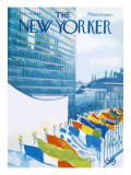 The New Yorker Cover - November 14, 1964 Premium Giclee Print by Arthur Getz