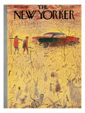 The New Yorker Cover - November 15, 1958 Premium Giclee Print by Garrett Price