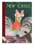 The New Yorker Cover - January 7, 1928 Regular Giclee Print by Constantin Alajalov