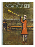 The New Yorker Cover - October 27, 1956 Regular Giclee Print by Abe Birnbaum