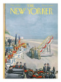 The New Yorker Cover - September 15, 1956 Premium Giclee Print by Arthur Getz
