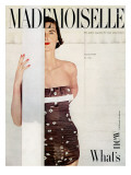 Mademoiselle Cover - January 1951 Regular Giclee Print by John Engstead