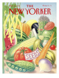The New Yorker Cover - March 26, 1990 Premium Giclee Print by Bob Knox