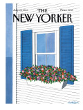 The New Yorker Cover - July 28, 1986 Regular Giclee Print by Judith Shahn