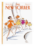 The New Yorker Cover - October 23, 1989 Premium Giclee Print by Lee Lorenz