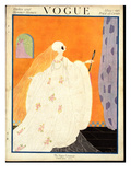 Vogue Cover - May 1917 Premium Giclee Print by Helen Dryden