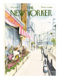 The New Yorker Cover - May 16, 1977 Regular Giclee Print by Charles Saxon