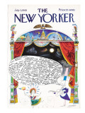 The New Yorker Cover - July 3, 1965 Regular Giclee Print by Saul Steinberg