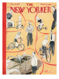 The New Yorker Cover - November 16, 1957 Premium Giclee Print by Perry Barlow