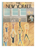 The New Yorker Cover - September 10, 1960 Regular Giclee Print by Ilonka Karasz