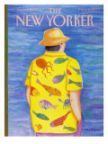 The New Yorker Cover - June 13, 1988 Regular Giclee Print by Pamela Paparone