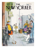 The New Yorker Cover - April 21, 1980 Regular Giclee Print by Charles Saxon