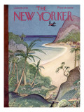 The New Yorker Cover - June 26, 1943 Premium Giclee Print by Rea Irvin