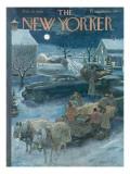 The New Yorker Cover - February 19, 1949 Regular Giclee Print by Garrett Price