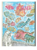 The New Yorker Cover - October 24, 1988 Regular Giclee Print by Edward Koren