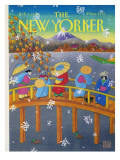 The New Yorker Cover - February 3, 1992 Premium Giclee Print by Bob Knox