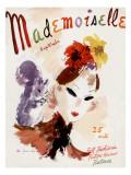 Mademoiselle Cover - September 1936 Regular Giclee Print by Helen Jameson Hall