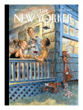 The New Yorker Cover - July 28, 2008 Premium Giclee Print by Peter de Sève