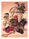 Gourmet Cover - September 1951 Regular Giclee Print by Henry Stahlhut