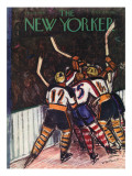 The New Yorker Cover - January 13, 1940 Premium Giclee Print by Victor De Pauw