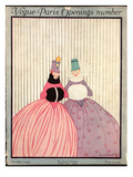 Vogue Cover - October 1915 Premium Giclee Print by Irma Campbell