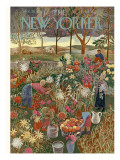 The New Yorker Cover - September 28, 1946 Regular Giclee Print by Ilonka Karasz