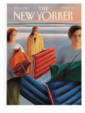 The New Yorker Cover - July 29, 1991 Premium Giclee Print by Gretchen Dow Simpson