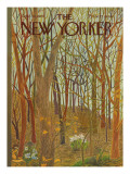 The New Yorker Cover - April 10, 1965 Regular Giclee Print by Ilonka Karasz
