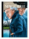 The New Yorker Cover - February 27, 2006 Premium Giclee Print by Mark Ulriksen