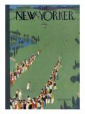 The New Yorker Cover - September 5, 1936 Regular Giclee Print by Adolph K. Kronengold